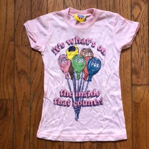 a3b8fec7 Junk Food Clothing Shirts & Tops - Girls Junk Food tootsie pop t-shirt